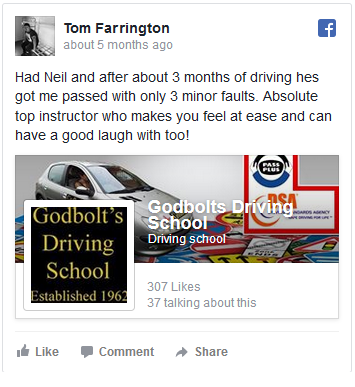 Driving Lessons Feedback